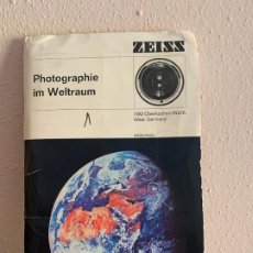 Fotografía antigua: ZEISS IKON PHOTOGRAPHIE IM WELTRAUM NASA 1969 LLEGADA A LA LUNA 24 DIAPOSITIVAS ALDRIN ARMSTRONG. Lote 190066105