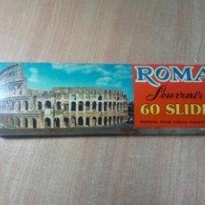 Fotografía antigua: DIAPOSITIVAS ROMA - AÑOS 70. Lote 193425688