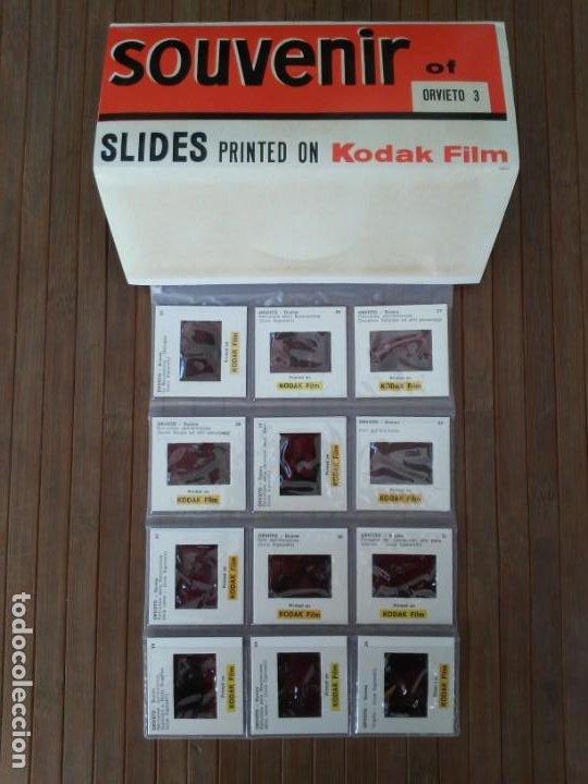 Fotografía antigua: Paquete con 12 diapositivas Souvenir of Orvieto Duomo Slides printed on Kodak film - Foto 4 - 194067740