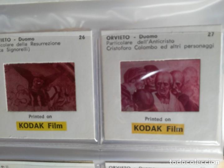 Fotografía antigua: Paquete con 12 diapositivas Souvenir of Orvieto Duomo Slides printed on Kodak film - Foto 6 - 194067740