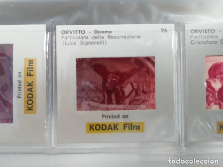 Fotografía antigua: Paquete con 12 diapositivas Souvenir of Orvieto Duomo Slides printed on Kodak film - Foto 8 - 194067740