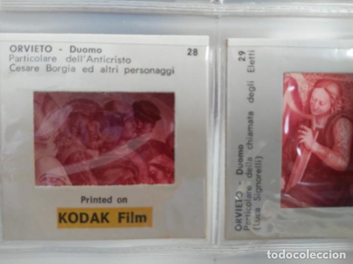 Fotografía antigua: Paquete con 12 diapositivas Souvenir of Orvieto Duomo Slides printed on Kodak film - Foto 9 - 194067740