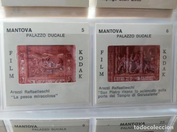 Fotografía antigua: Paquete con 48 diapositivas Souvenir Mantova Italia Slides printed on Kodak film Ed. Zanini - Foto 9 - 194131575