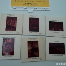 Fotografía antigua: SEIS ANTIGUAS DIAPOSITIVAS DE MARIAZELL OSTERREICH STEIERMARK. Lote 194389751
