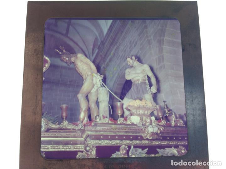 Fotografía antigua: SEMANA SANTA DE UBEDA (JAEN) COLECCION DE SEIS ANTIGUAS DIAPOSITIVAS 5X5 EN CRISTAL, MADE IN SUIZA. - Foto 2 - 194782542