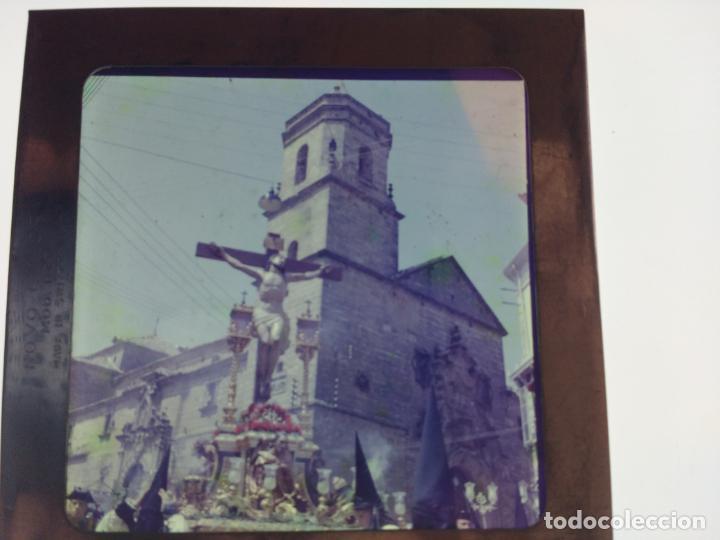 Fotografía antigua: SEMANA SANTA DE UBEDA (JAEN) COLECCION DE SEIS ANTIGUAS DIAPOSITIVAS 5X5 EN CRISTAL, MADE IN SUIZA. - Foto 6 - 194782542