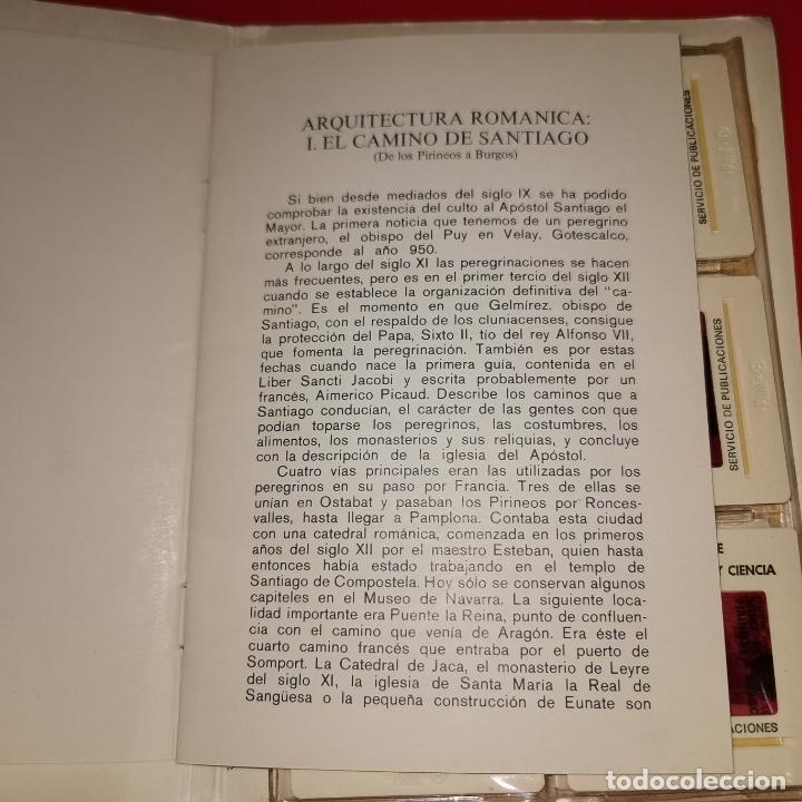 Fotografía antigua: ARQUITECTURA ROMANICA: 1 EL CAMINO DE SANTIAGO (DE LOS PIRINEOS A BURGOS) 12 DIAPOSITIVAS - Foto 2 - 194865041