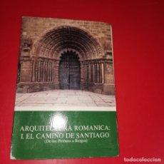 Fotografía antigua: ARQUITECTURA ROMANICA: 1 EL CAMINO DE SANTIAGO (DE LOS PIRINEOS A BURGOS) 12 DIAPOSITIVAS. Lote 194865041