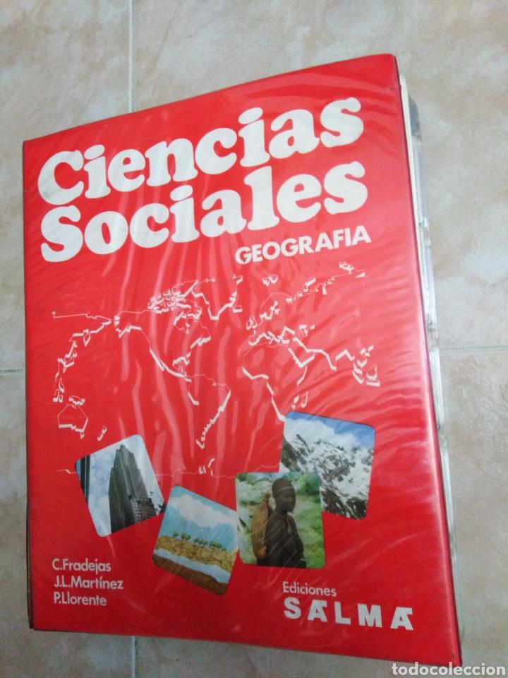 CIENCIAS SOCIALES GEOGRAFÍA ( LOTE DE 400 DIAPOSITIVAS ) EDICIONES SALMA (Fotografía Antigua - Diapositivas)