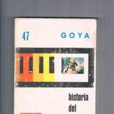 Fotografía antigua: GOYA HISTORIA DEL ARTE ESPAÑOL 47 HIARES 1977. Lote 190149183