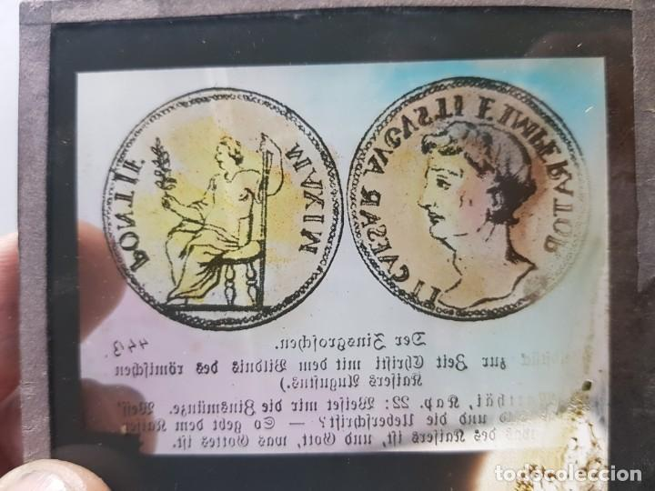 Fotografía antigua: Diapositivas en Cristal de Jesus lote 13 principios 1900 coloreada espectaculares - Foto 10 - 203166080