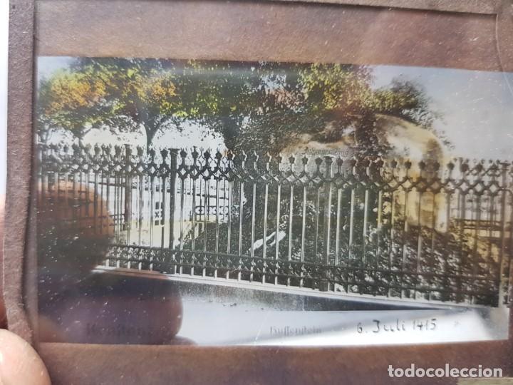 Fotografía antigua: Diapositivas en Cristal de Jesus lote 13 principios 1900 coloreada espectaculares - Foto 13 - 203166080
