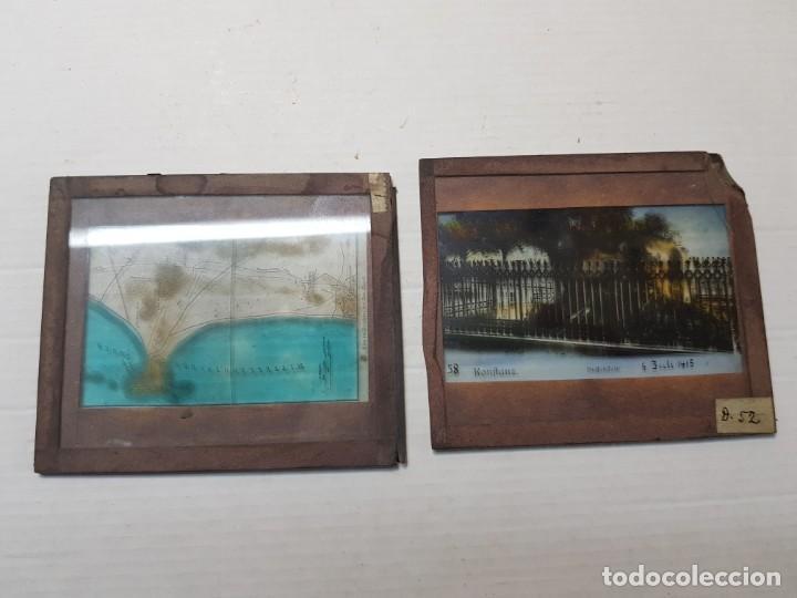 Fotografía antigua: Diapositivas en Cristal de Jesus lote 13 principios 1900 coloreada espectaculares - Foto 15 - 203166080
