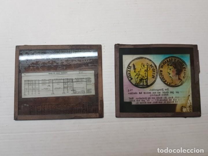 Fotografía antigua: Diapositivas en Cristal de Jesus lote 13 principios 1900 coloreada espectaculares - Foto 17 - 203166080