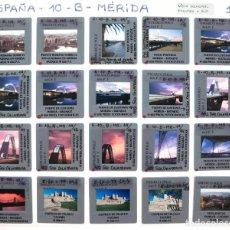 Fotografía antigua: LOTE DE 132 DIAPOSITIVAS DE MÉRIDA Y TRUJILLO.. Lote 203846133