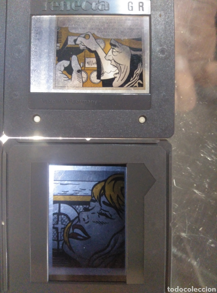 Fotografía antigua: Lote 4 diapositivas comic - Foto 3 - 205561262