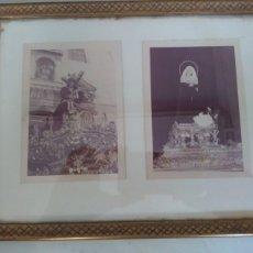 Fotografía antigua: ANTIGUA FOTOGRAFIA DE COFRADIA AÑOS 60 ORIGINALES. Lote 210816424