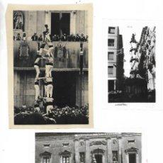 Fotografía antigua: CASTELLS - 3 NEGATIUS -DIFERENTES MIDES.. Lote 211670803
