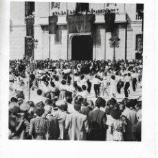 Fotografía antigua: SARDANES - CONCURS A LA PL. DE LA FONT DE TARRAGONA - NEGATIU. Lote 211685105