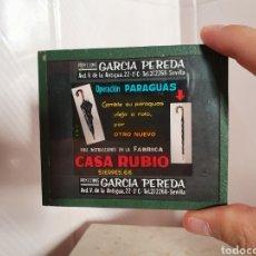 Fotografía antigua: ANTIGUA DIAPOSITIVA CASA RUBIO CALLE SIERPES SEVILLA. Lote 216602692