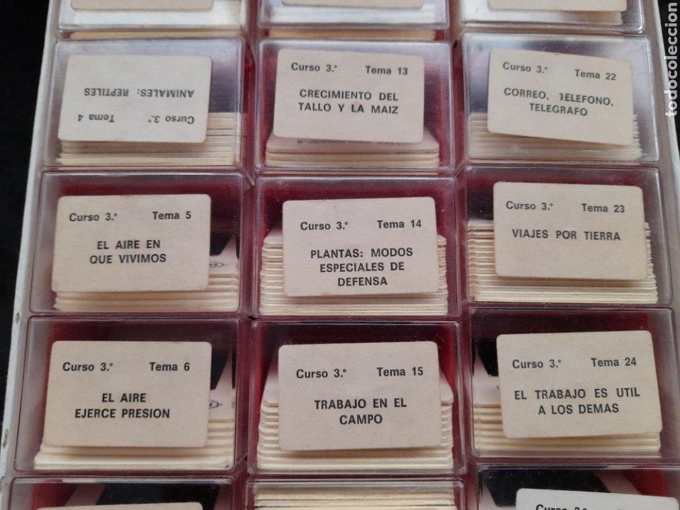 Fotografía antigua: ANTIGUAS CAJAS DE DIAPOSITIVAS DE E.G.B. CUATRO CURSOS. CIENCIAS NATURALES Y SOCIALES - Foto 11 - 217613457