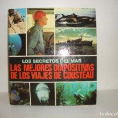 Fotografía antigua: LOS SECRETOS DEL MAR LAS MEJORES DIAPOSITIVAS DE LOS VIAJES DE COUSTEAU COMPLETO VER TODAS LAS FOTOS. Lote 217873101