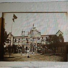 Photographie ancienne: TERRASSA. EXPOSICION 1904 CRISTAL LINTERNA MAGICA EN BUEN ESTADO. Lote 218050082