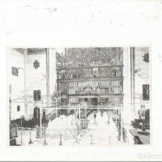 Fotografía antigua: NEGATIVO ANTIGUO ORIGINAL CAPILLA REAL DE GRANADA. Lote 218389990