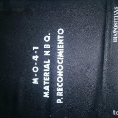 Fotografía antigua: MATERIAL N.B.Q. P. RECONOCIMIENTO. DIAPOSITIVAS.. Lote 220258571