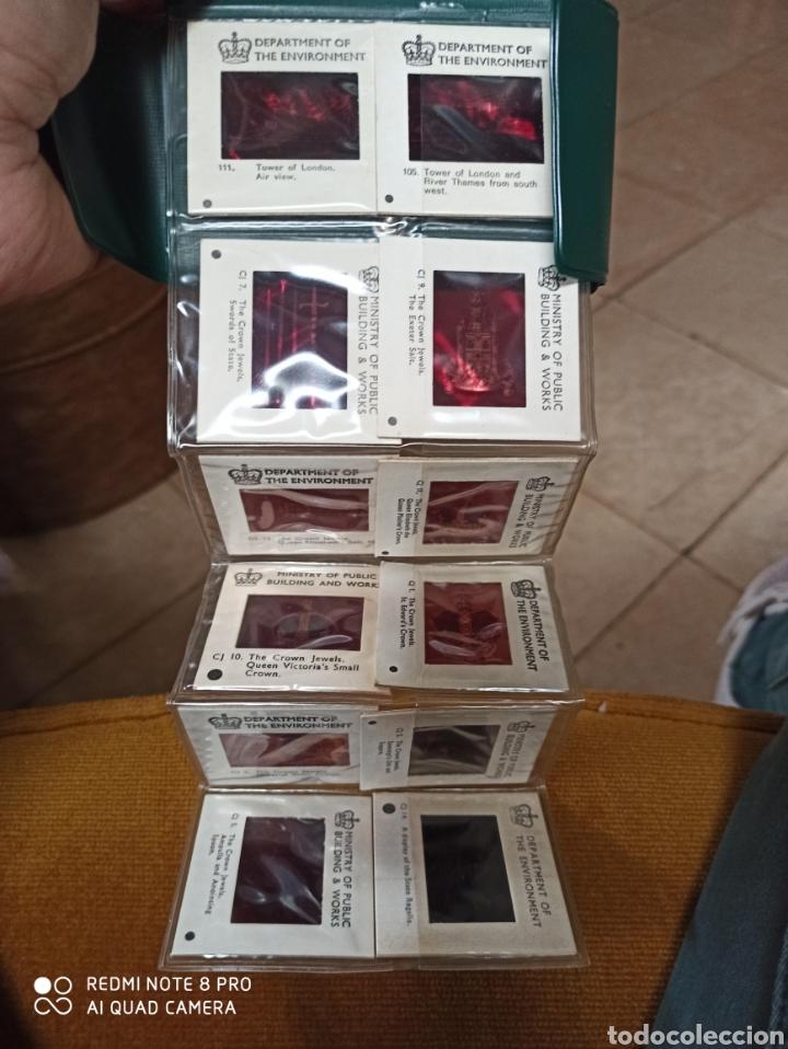 Fotografía antigua: diapositivas de la Torre de Londres y sus joyas - Foto 5 - 221799570