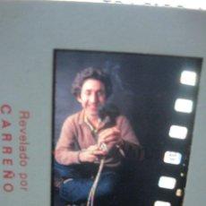 Fotografía antigua: SESION PREPARATORIA DE DENUDO MASCULINO EROTICO FOTO ANTIGUA INEDITA DIAPOSITIVA MODELO CHICO. Lote 231423560