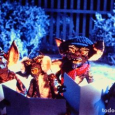 Fotografía antigua: TRANSPARENCY FILM GREMLINS SLIDE WARNER BROS. INC.. Lote 234322845