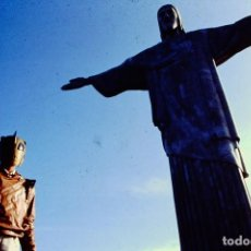 Fotografía antigua: TRANSPARENCY FILM THE ROCKETEER BILLY CAMPBELL BRAZIL RIO DE JANEIRO WALT DISNEY PICTURES SLIDE 35MM. Lote 234325760