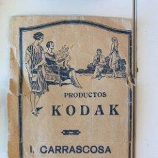 Fotografía antigua: FOTOGRAFÍAS MÁS SOBRE DE I.CARRASCOSA SORIA KODAK. Lote 235283485
