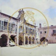 Fotografía antigua: 1965 - PONTEVEDRA PLAZA DE MUGARTEGUI GALICIA DIAPOSITIVA ORIGINAL PROFESIONAL S.O.F. FORM.6X6. Lote 239493285