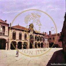 Fotografía antigua: 1965 - PONTEVEDRA PLAZA DE MUGARTEGUI GALICIA DIAPOSITIVA ORIGINAL PROFESIONAL S.O.F. FORM.6X6. Lote 239493380