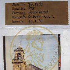 Fotografía antigua: 1969 TUY - TUI - PONTEVEDRA - IGLESIA STO DOMINGO - GALICIA DIAPOSITIVA PROFESIONAL ONIEVA FORM.6X6. Lote 239494165