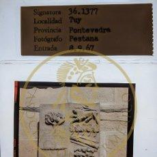 Fotografía antigua: 1967 - TUY - TUI - PONTEVEDRA GALICIA DIAPOSITIVA ORIGINAL PROFESIONAL PESTANA - FORM.6X6. Lote 239495395