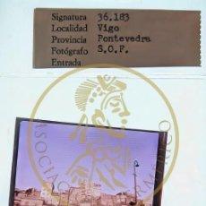 Fotografía antigua: 1969 EL BERBES - VIGO - GALICIA - DIAPOSITIVA ORIGINAL S.O.F. PROFESIONAL FORMATO MEDIO 6X6. Lote 239496390