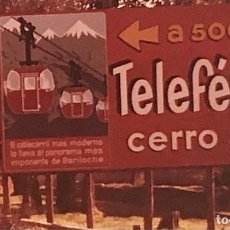 Fotografía antigua: 35 DIAPOSITIVAS DEL COMPLEJO TURÍSTICO CERRO OTTO, BARILOCHE PATAGONIA ARGENTINA. Lote 239953355