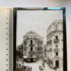 Fotografía antigua: PLACA DE CRISTAL. POSITIVO. CALLES Y EDIFICIOS MODERNISTAS DE CASTELLÓN. FOTÓGRAFO?. COMIENZOS DEL S. Lote 241923795