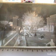Fotografía antigua: PLACA CRISTAL. NEGATIVO. LAVADEROS PÚBLICOS CASTELLÓN. PRIMER CUARTO DEL S. XX. FOTÓGRAFO?.. Lote 242083120
