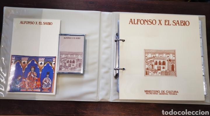 RELACIÓN DE DIAPOSITIVAS ALFONSO XEL SABIO (Fotografía Antigua - Diapositivas)