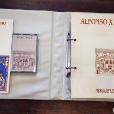 Fotografía antigua: RELACIÓN DE DIAPOSITIVAS ALFONSO XEL SABIO. Lote 244495455