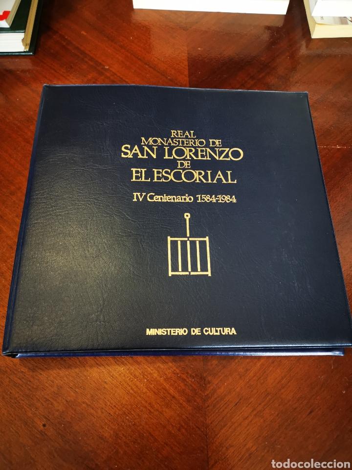 RELACIÓN DE DIAPOSITIVAS DEL REAL MONASTERIO DE SAN LORENZO DEL ESCORIAL IV CENTENARIO 1584-1984 (Fotografía Antigua - Diapositivas)