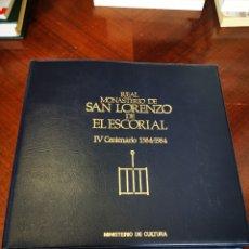 Fotografía antigua: RELACIÓN DE DIAPOSITIVAS DEL REAL MONASTERIO DE SAN LORENZO DEL ESCORIAL IV CENTENARIO 1584-1984. Lote 244497750