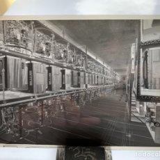 Fotografía antigua: NEGATIVO CELULOIDE. INTER ELECTRÓNICA S. A. SALA ALMACÉN-MONTAJE. HORTOLA FOTÓGRAFO. BARCELONA.. Lote 244527340