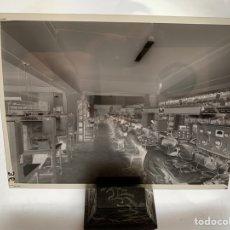 Fotografía antigua: NEGATIVO CELULOIDE. INTER ELECTRÓNICA S. A. TÉCNICOS OPERARIOS. HORTOLA FOTÓGRAFO. BARCELONA.. Lote 244528240