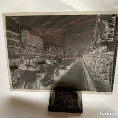 Fotografía antigua: NEGATIVO CELULOIDE. INTER ELECTRÓNICA S. A. ESPECIALISTAS MONTAJE. HORTOLA FOTÓGRAFO. BARCELONA.. Lote 244528605