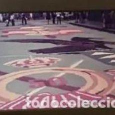 Fotografía antigua: 20 DIAPOSITIVAS CORPUS CRISTHI ALFOMBRAS DE SERRÍN Y FLORES 1985 ¿SITGES, BARCELONA?. Lote 245756300